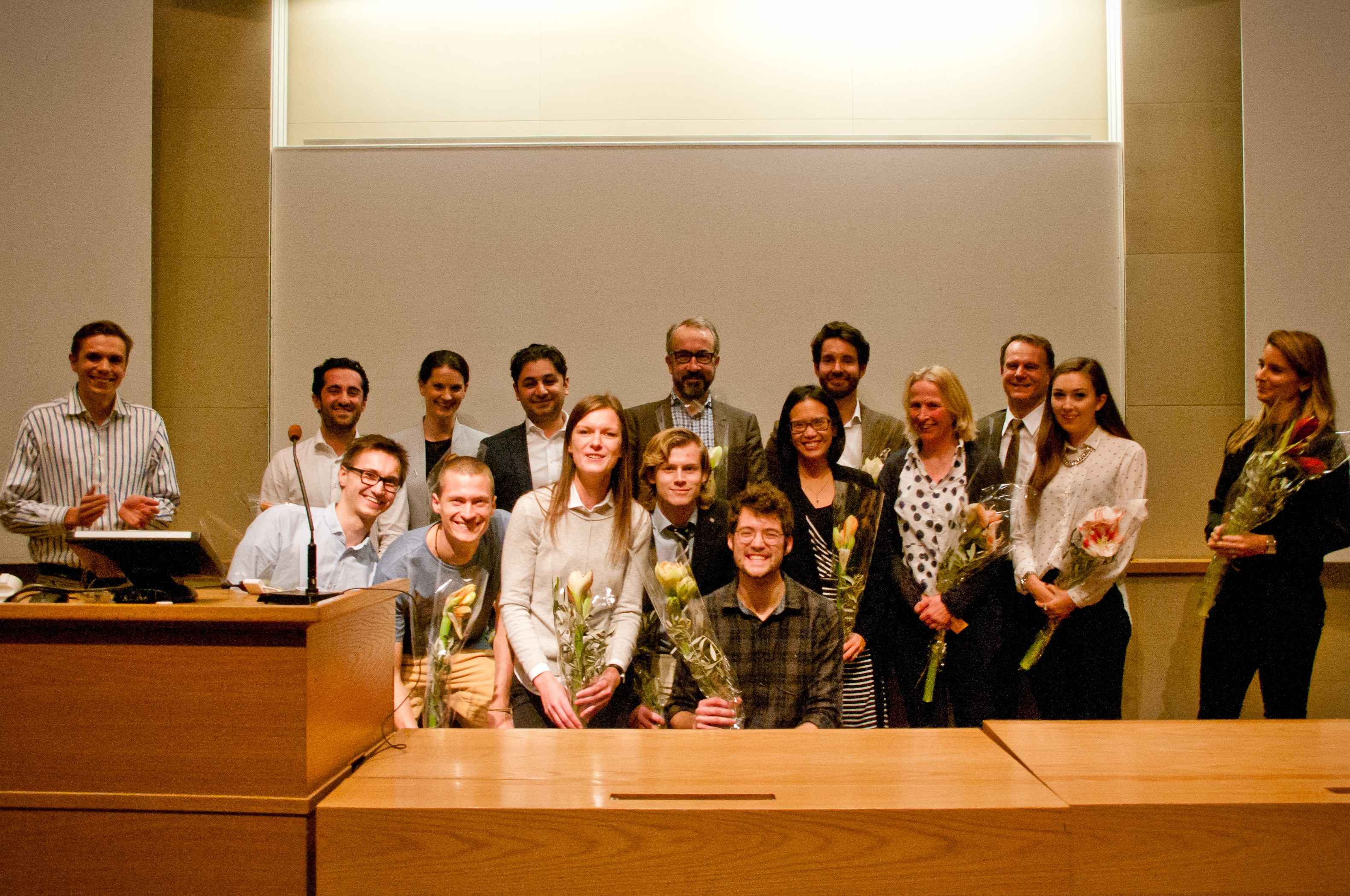 The Hult Prize national final at Stockholm School of Economics