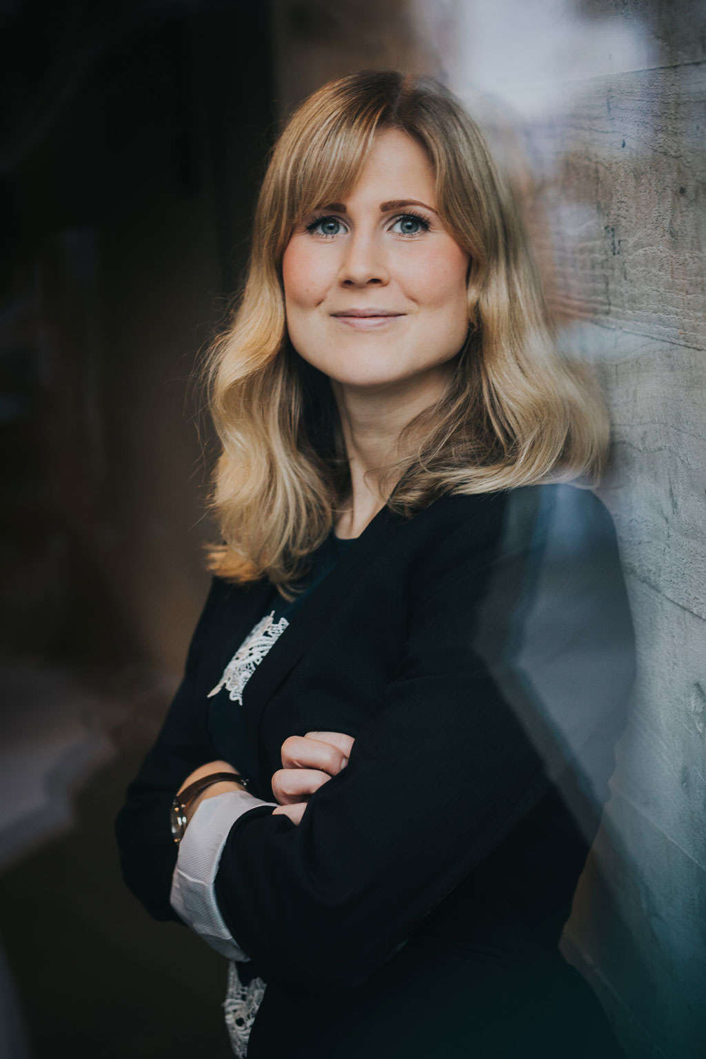 Sofia Fölster, Female Economist of the Year 2019. Picture taken at Artipelag by photographer Juliana Wiklund.