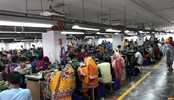 Apparel workers in Bangladesh